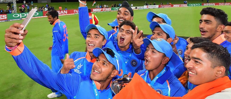 U-19 WC: Hope boys have many more memories like this: Dravid