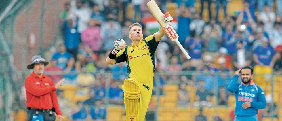 Warner-Finch save Aussie blushes