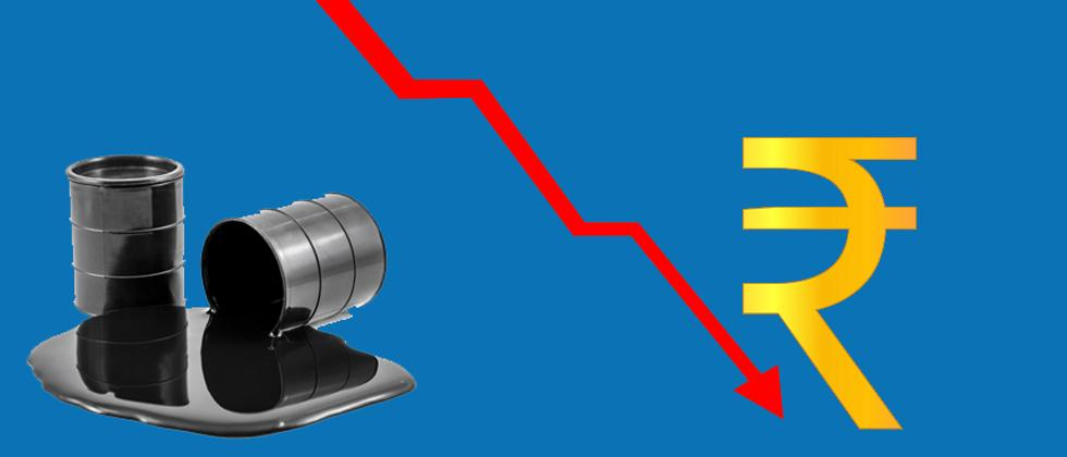 Rupee slips 8 paise to 70.49 against USD on surging crude oil