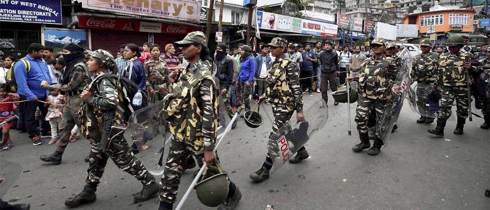 Darjeeling Protests
