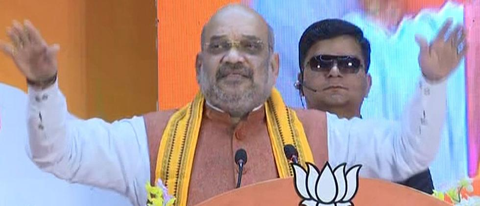 Amit Shah urges people to bless BJP in Lok Sabha polls