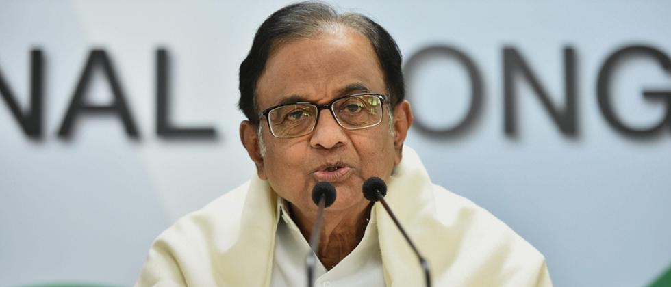 Govt 'wronged' country on Rafale, only JPC can probe deal: Chidambaram