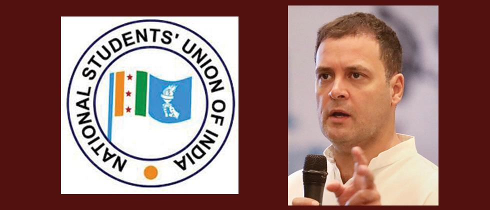 NSUI prez quits after sexual harassment charges, Rahul Gandhi accepts resignation