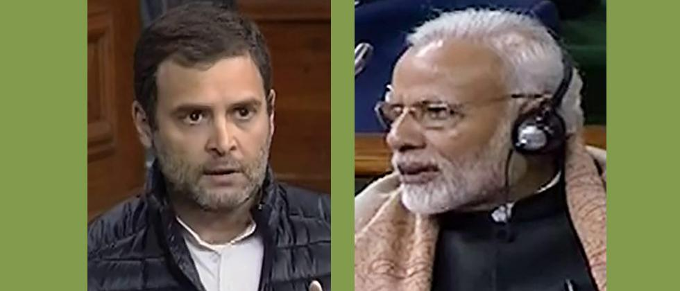 Rahul says PM got a woman to defend him on Rafale, Modi calls it insult to all women
