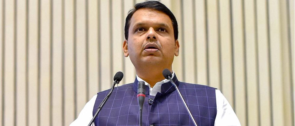 Maharashtra Chief Minister Devendra Fadnavis speaks at Y4D Foundation New India Conclave at Vigyan Bhavan in New Delhi on Monday, July 16,2018. Kamal Kishore/PTI