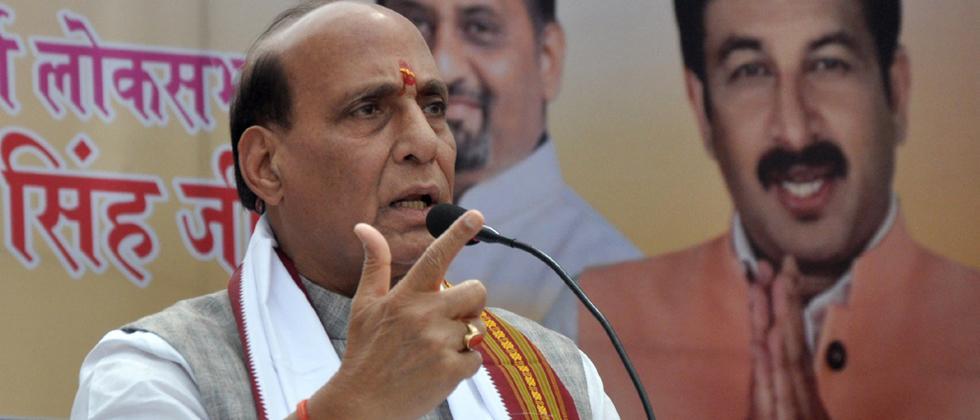 Why shouldn't Modi get credit for Balakot strike, asks Rajnath Singh
