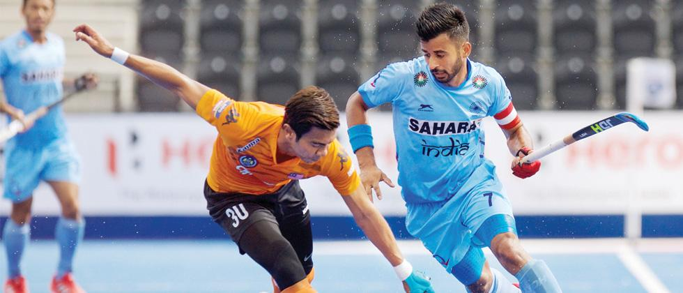 India lost to Malaysia in the quarter final of HWL
