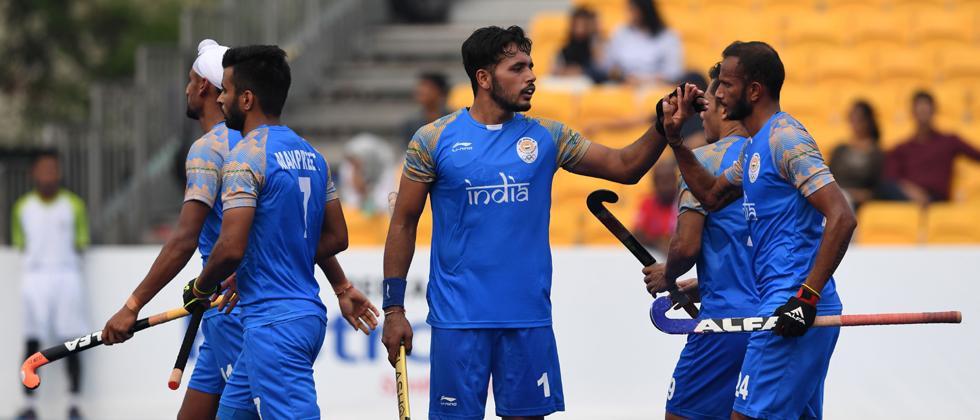 India roughshod Sri Lanka 20-0 to top pool 'A' table