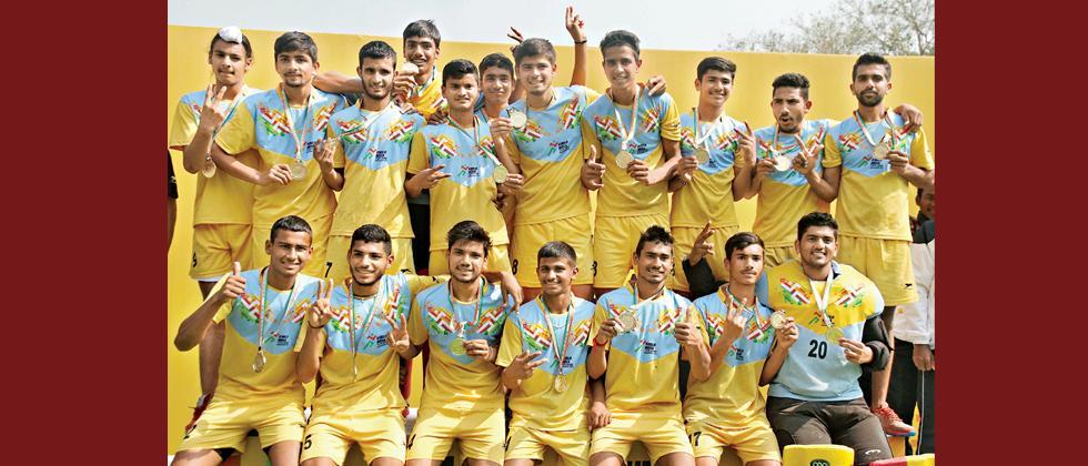 Favourites Haryana grab U-17 Boy's gold
