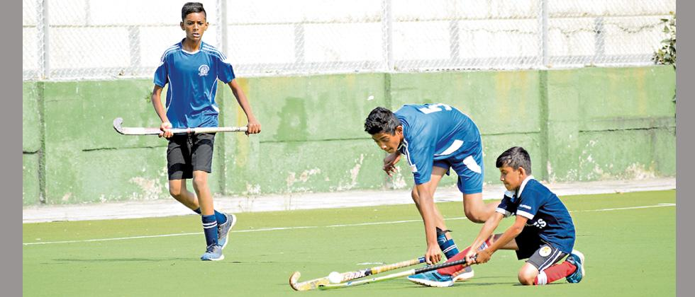 Jyoti School enters last 4 after a tie against BK Birla