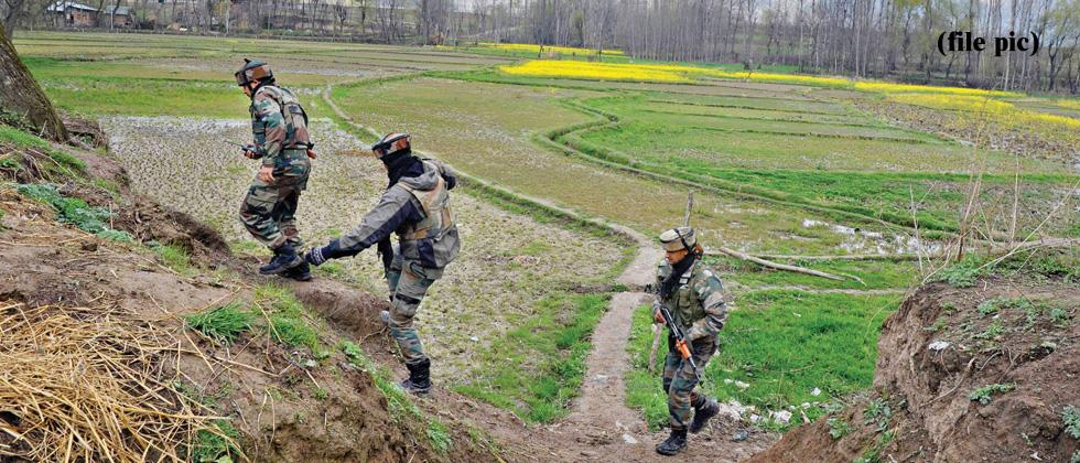 BSF trooper injured in J&K in Pakistan firing