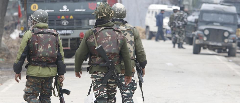 Three Jaish terrorists and Army major killed in Pulwama attack