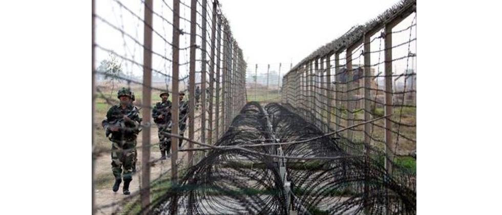 Pak violates ceasefire for four consecutive days, shells BSF