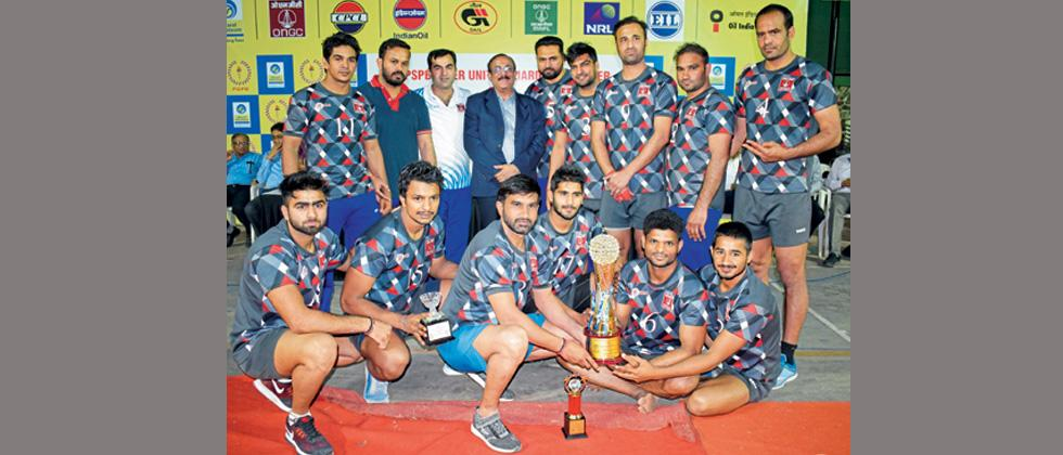 ONGC triumphs in PSPB inter unit Kabaddi tourney