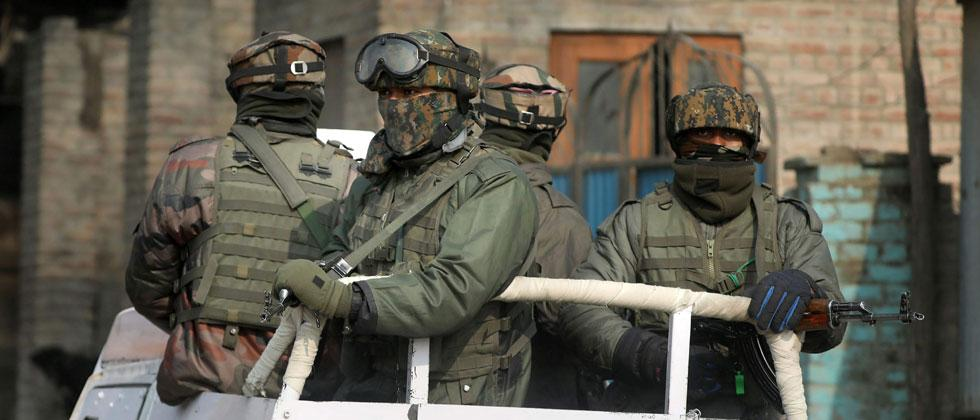Four policemen killed in IED blast in Kashmir's Sopore