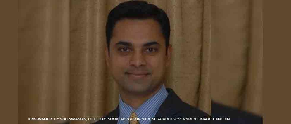 Govt appoints Krishnamurthy Subramanian as Chief Economic Advisor