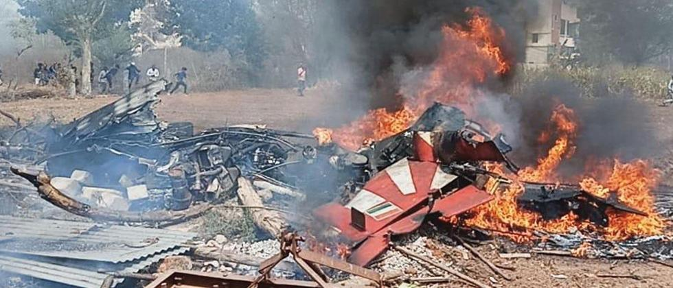 1 pilot dead as 2 IAF aircraft collide, crash in Bengaluru