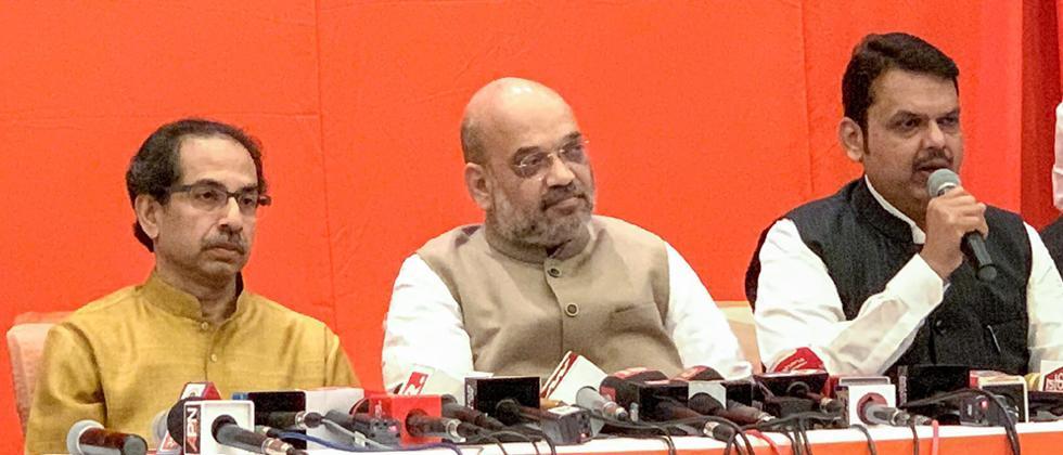 BJP-Sena to contest Lok Sabha, Assembly polls jointly: Shah