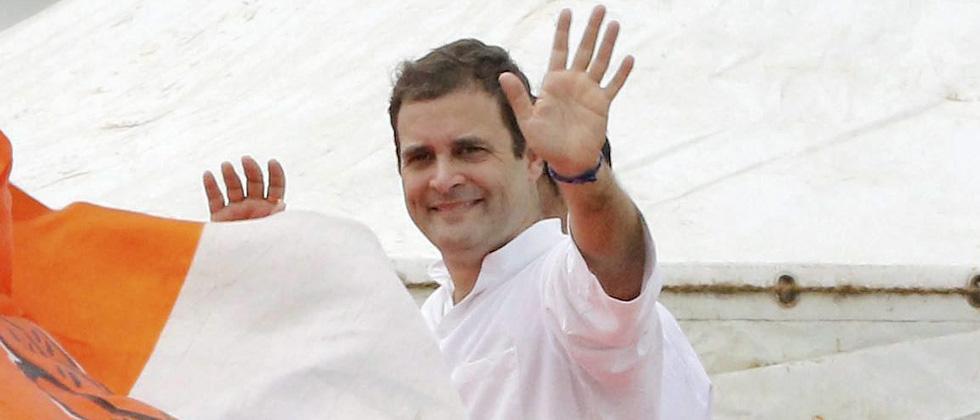 BJP and Modi busy dividing society: Rahul Gandhi