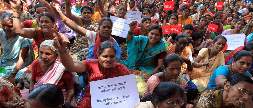 Govt backtracks on MESMA for anganwadi workers
