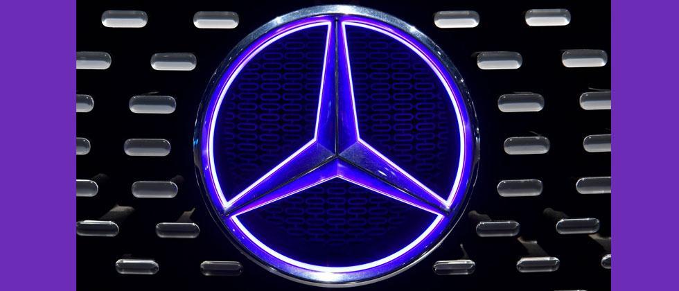 Mercedes-Benz sales jump 24.8 percent in Q1. AFP Photo/John MacDougall