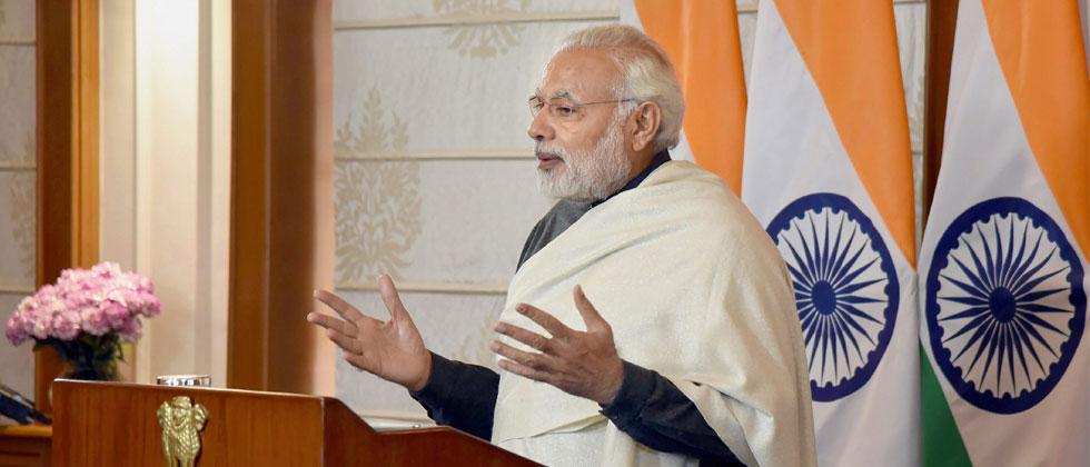 Not eyeing foreign territories to exploit resources: Narendra Modi