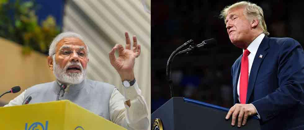 Trump takes dig at PM Modi for funding