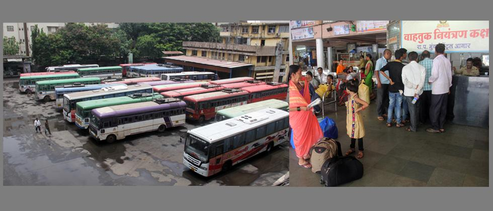 MSRTC strike hits travellers hard