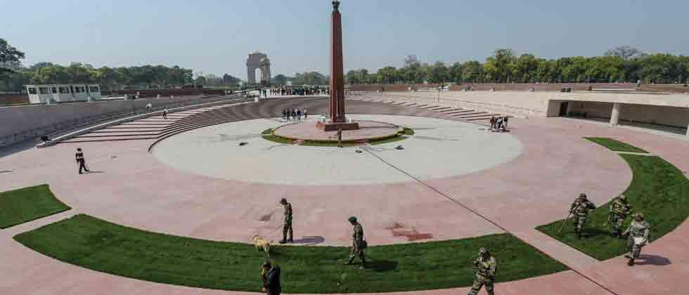 PM dedicates National War Memorial to the nation