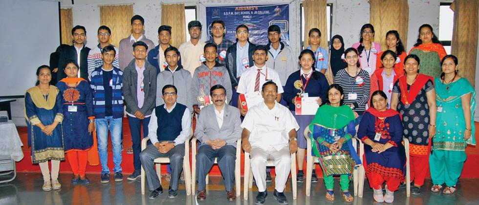 AISSMS holds web designing contest in city