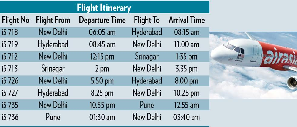 AirAsia to connect Pune to Delhi