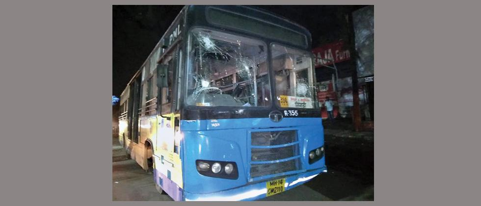 Angry mob vandalises 10 buses after a person dies in accident