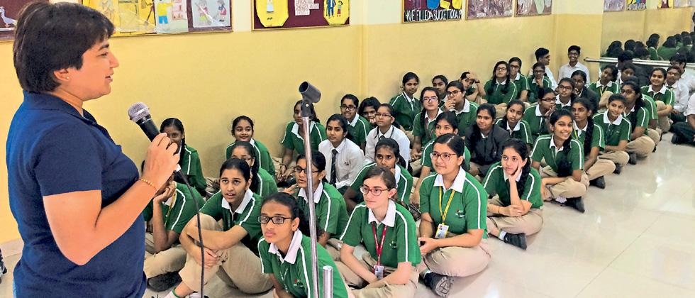 Orbis School holds workshop on cyber safety