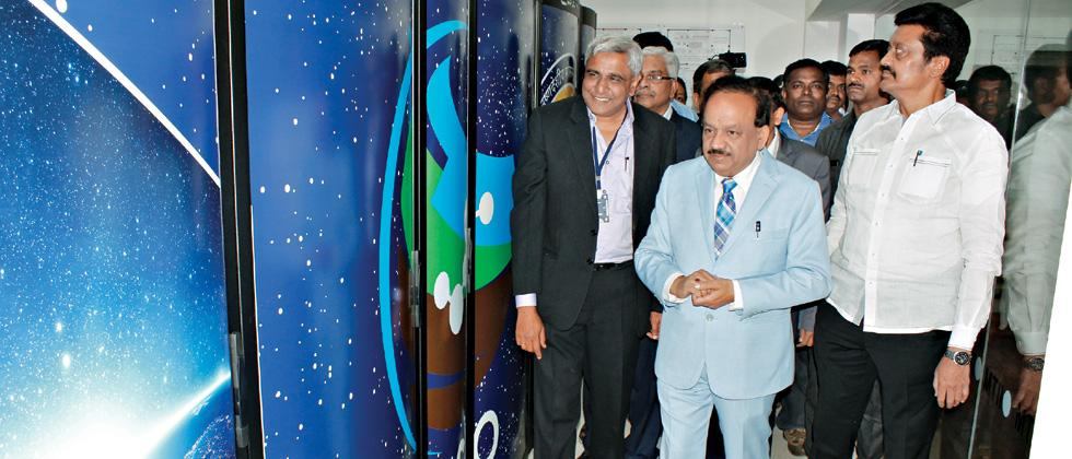 Pratyush HPC system launched in city at IITM
