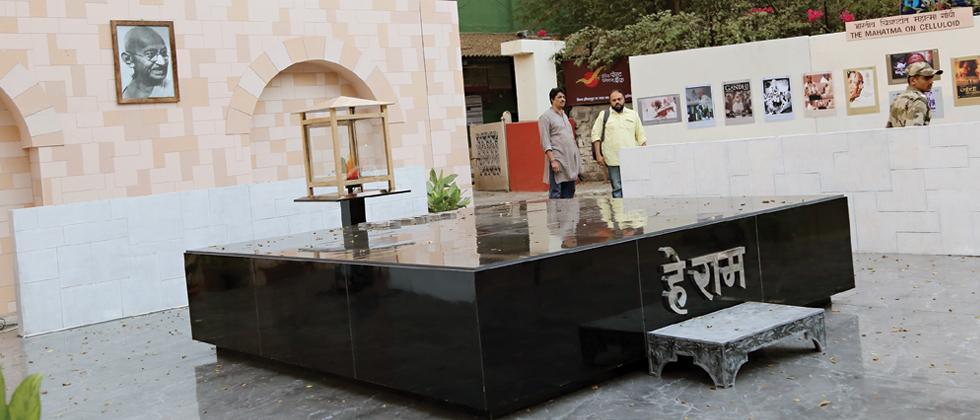 Raj Ghat replica set up at FTII