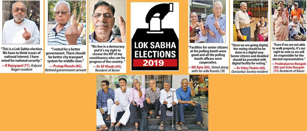 LokSabha 2019: Senior citizens cast their vote for a stronger nation