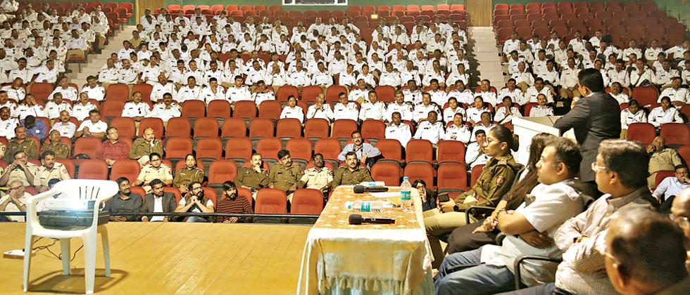 Traffic police release awareness videos