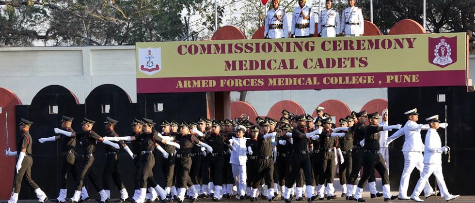 103 cadets commissioned into Armed Forces Medical Services