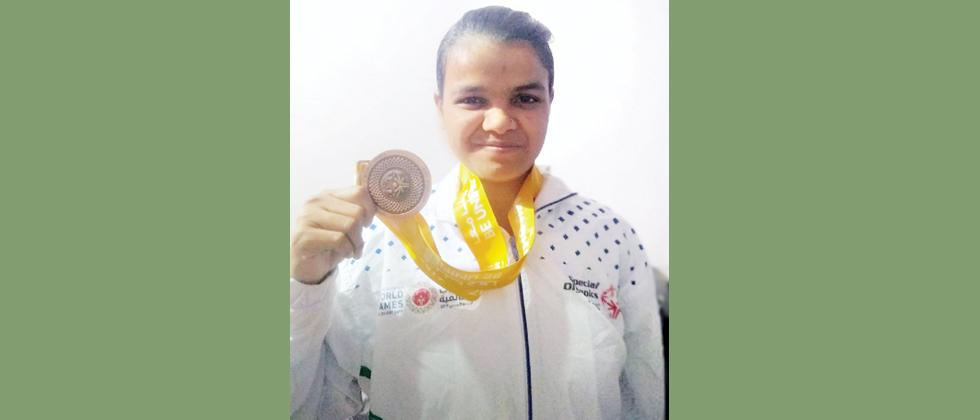Pune-based girl Julekha represents India at Special Olympics 2019
