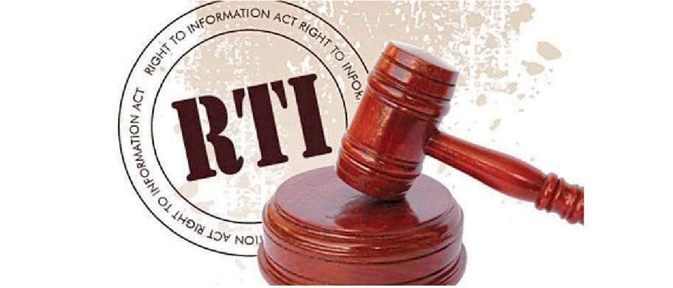 Centre confirms plan to amend RTI Act