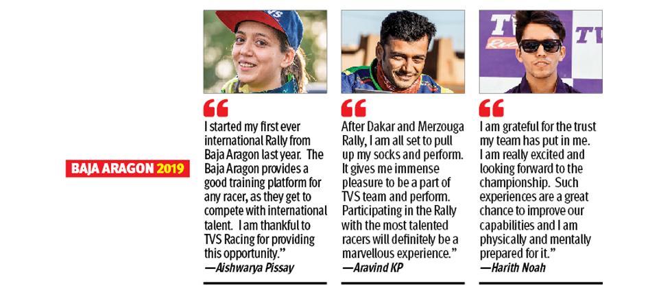 Aishwarya eyes maiden Baja World Championship title
