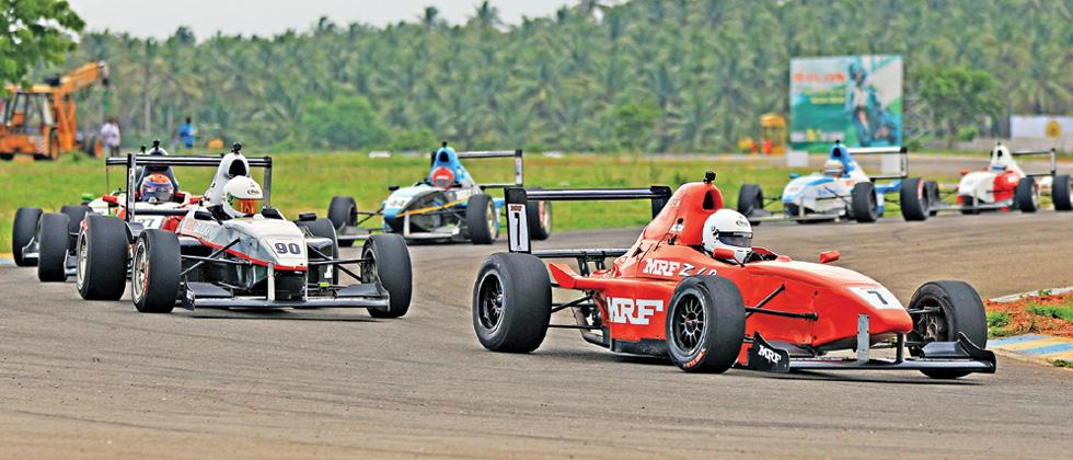 MRF F1600 triple-header to highlight 12-race card