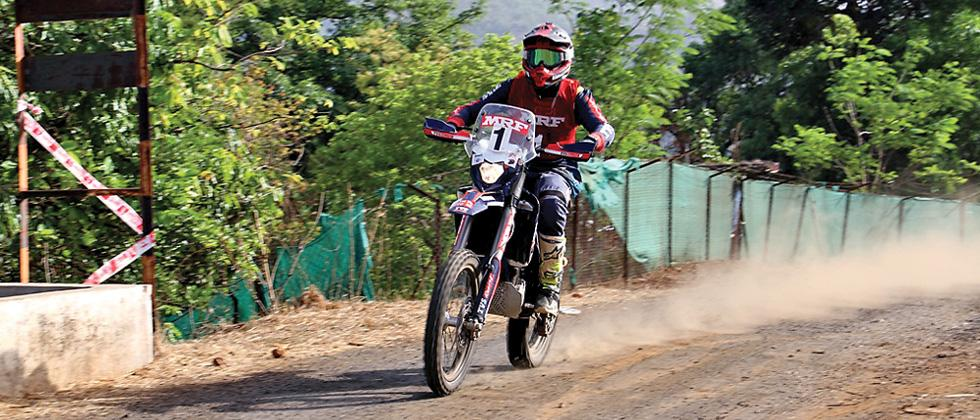 TVS' Rajendra beats Natraj in MRF Rally of Pune