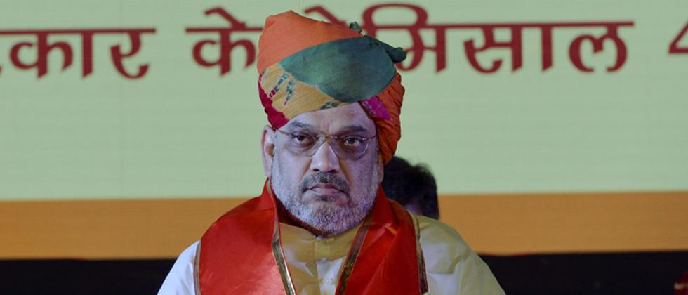 Amit Shah mocks Rahul Gandhi, says lucky that he got such opposition