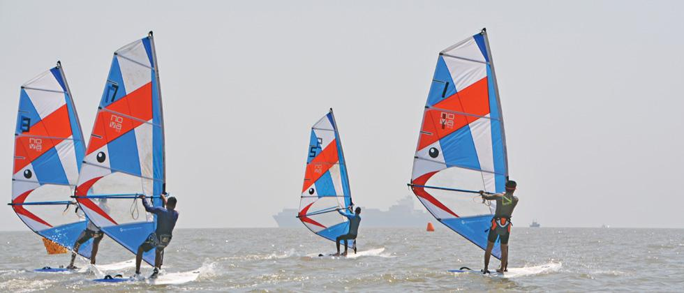 Kumar, Shekhar continue to rule in 470 class