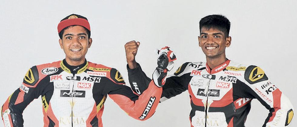 Sarath Kumar (left) and Rajiv Sethu will look for impressive outings.