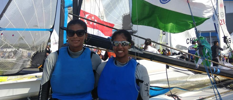 Silver lining amidst two bronze in sailing