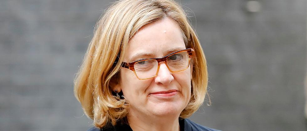 Amber Rudd resigns as UK Home Secretary