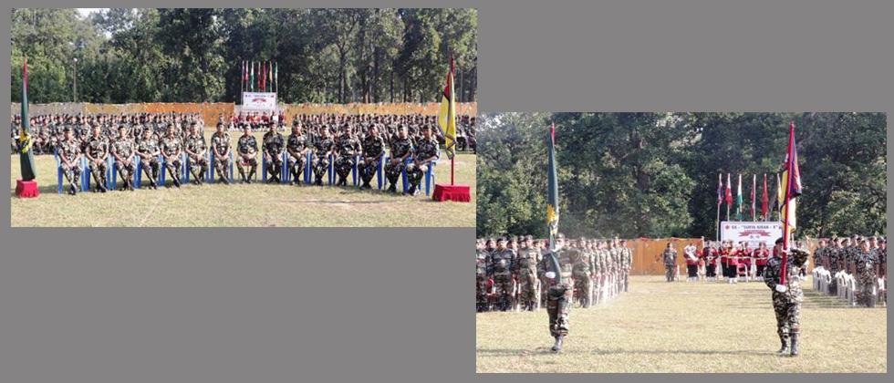 India-Nepal joint battalion level exercise Surya Kiran-XIII
