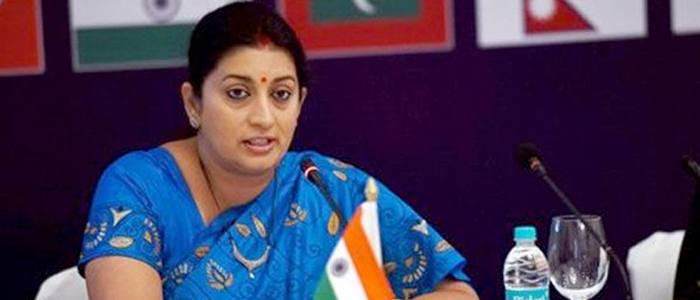 Rahul's lip service to development failed Amethi: Smriti Irani